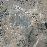 Dry Lake Photos - Las Vegas, Satellite Image, 2009 by Nasa