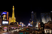Las Vegas Prints - Las Vegas Strip Print by Shawn Everhart