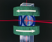 Laser Trap Making New State Of Matter Print by National Institute Of Standards And Technology (nist)