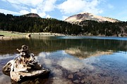 Helen Framed Prints - Lassen Mountain Lakes Framed Print by Adam Jewell