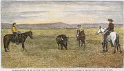 Bad Lands Prints - Last Buffalo, 1887 Print by Granger