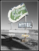 Yesteryear Photos - Last Chance Motel by Glenn McCarthy Art and Photography
