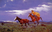 Utah Paintings - Last Dash For Freedom by Randy Follis