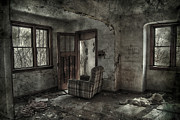 Abandoned House Prints - Last Days  Print by Jerry Cordeiro