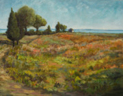 Pathway Paintings - Last Days of Summer by B Rossitto