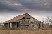 Old Houses Photo Metal Prints - Last House.. Metal Print by Al  Swasey