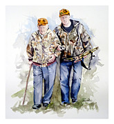 Last Hunt Print by Dana  Bellis