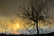 Abstracts Photos - Last light in the storm by Guido Montanes Castillo
