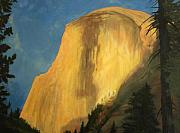 Yosemite Paintings - Last Light by Jill Iversen