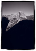Dome Prints - Last Light On Half Dome Print by Steve Gadomski