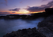 Spouting Prints - Last Light over the South Shore Print by Mike  Dawson
