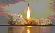 Padre Art - Last Mission Atlantis Blastoff