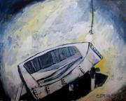 Sailing Boat Originals - LAST TIME in the PATCH SHED by Charlie Spear