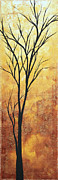 Silhouette Painting Posters - Last Tree Standing by MADART Poster by Megan Duncanson