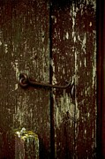 Barn Digital Art Prints - Latch Print by The Stone Age