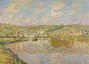 Vetheuil Framed Prints - Late Afternoon - Vetheuil Framed Print by Claude Monet