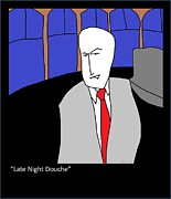 Craig Ferguson Art - Late Night Douche by Douglas Ayers