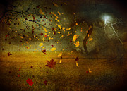 Panorama Mixed Media - Late october by Svetlana Sewell