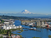Tacoma - Late Summer Afternoon - Port of Tacoma by Sean Griffin