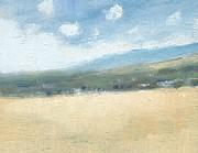 Late Summer Cornfields Print by Alan Daysh