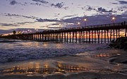 Julianne Bradford - Late Sunset at the Pier