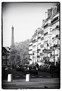 Images Of France Framed Prints - Latin Quarter Streets Framed Print by John Rizzuto