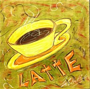 Lee Halbrook Metal Prints - Latte Metal Print by Lee Halbrook