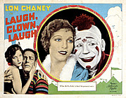 Loretta Posters - Laugh, Clown, Laugh, Loretta Young, Lon Poster by Everett