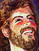 Laughing Jesus Print by Reveille Kennedy