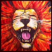 Jeffrey Kyker - Laughing Lion