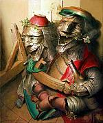 Rire Paintings - Laughter by Andre Martins de Barros