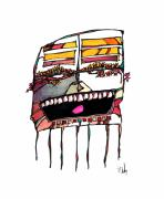 Canadian Mixed Media Prints - Laughter Print by Dan Daulby