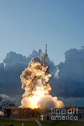 Delta Photos - Launch Of Dawn Spacecraft by Science Source