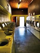Laundromat Print by Skip Hunt