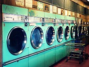 Machine Framed Prints - Laundromat Framed Print by Vivienne Gucwa