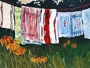 Laundry Originals - Laundry Day at Le Vieux by Tara Moorman