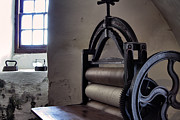 Old House Photographs Prints - Laundry Press Print by Jason Politte