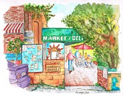 Tiles Originals - Laurel-Canyon-Market-Deli-Hollywood-CA by Carlos G Groppa