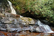 Sureal Prints - Laurel Falls Tennessee Print by Robert Harmon