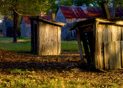 Outhouses Photos - Laurel Valley Plantation by Sean Brubaker