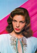 Bacall Framed Prints - LAUREN BACALL (b.1924) Framed Print by Granger