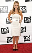 Do Something Prints - Lauren Conrad At Arrivals For The Do Print by Everett