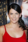 Because Framed Prints - Lauren Graham At Arrivals For Premiere Framed Print by Everett