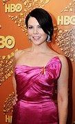 Golden Globe Framed Prints - Lauren Graham At The After-party Framed Print by Everett