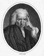 Novelist Framed Prints - Laurence Sterne (1713-1768) Framed Print by Granger