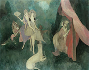1920 Framed Prints - Laurencin: Women, 1920 Framed Print by Granger