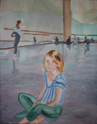 Lauren's Dance Class Print by Stella Sherman