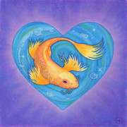 Fish Pastels - Laurie by Lisa Kretchman