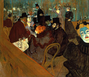 Turn Of The Century Art - Lautrec: Moulin Rouge by Granger