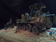 United States Sculptures - Lav 15 by Rich Holden